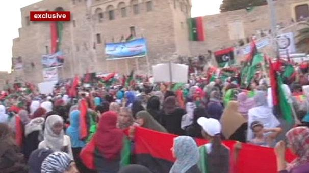 Tripoli calls for freedom for all Libyans