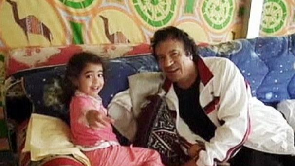 Gaddafi home movie found