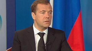 """Medvedev: """"El mensaje en Siria debería haber sido enviado en todas las direcciones"""""""