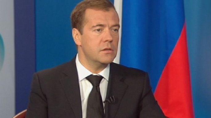 Rusya lideri Medvedev euronews'e konuştu: