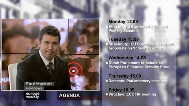 يوروب ويكلي من يورونيوز ابرز الاخبار الاوروبية في اسبوع