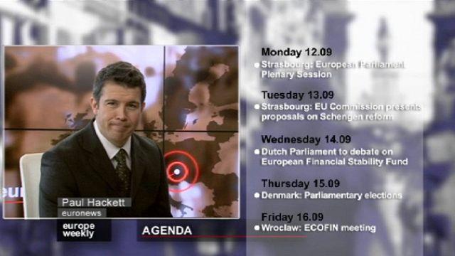 Avrupa'nın Gündemi Europe Weekly'de