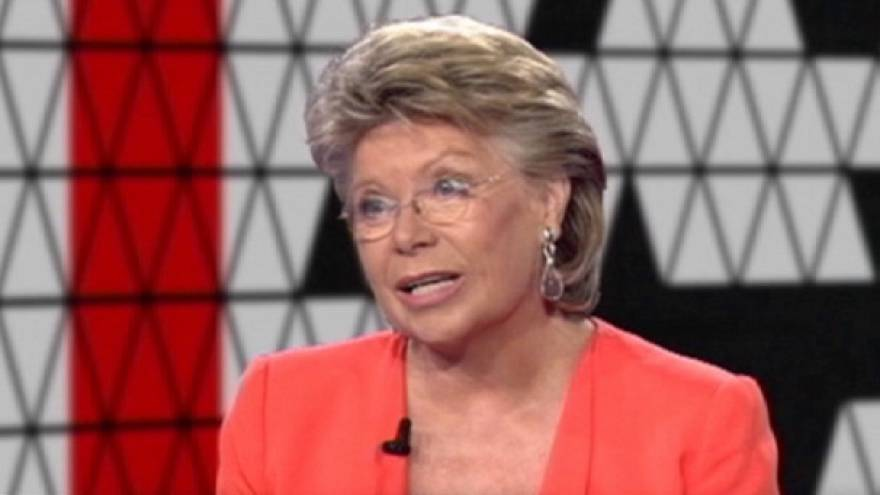Reding faces the public's questions in I talk