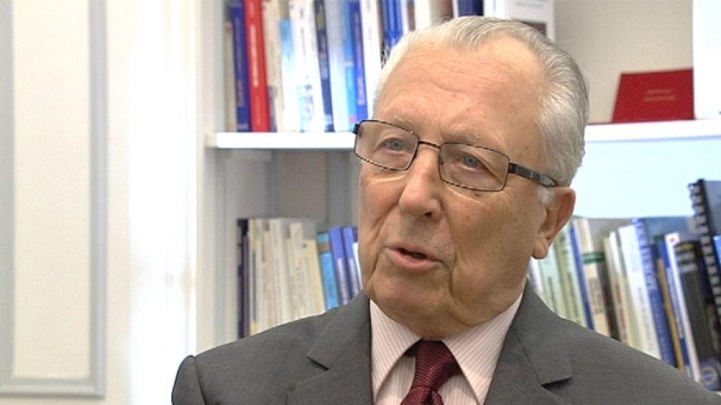 """Jacques Delors: """"Sarkozy und Merkel haben das EU-System auf zwischenstaatliche Lösungen getrimmt"""""""