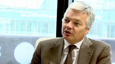 'Things will turn out well' says Reynders on euro crisis