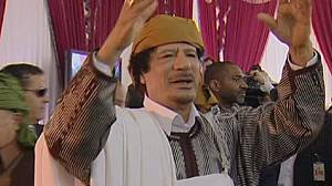 Defiant Gaddafi warns 'NATO bombs will not last'