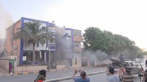 Home of 'Gaddafi ally' attacked in Tripoli