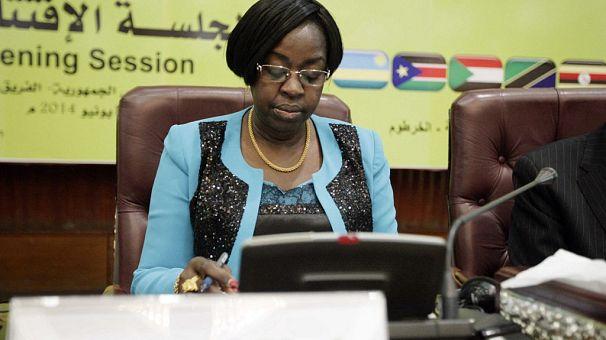 South Sudan names woman to head parliament