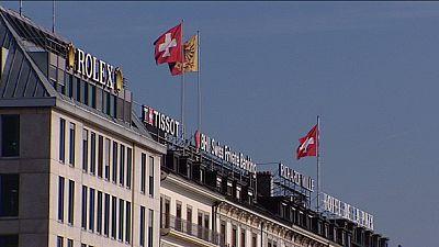 Euro storm blows cold wind through Switzerland