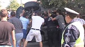Ethnic clashes in Bulgaria leave five injured