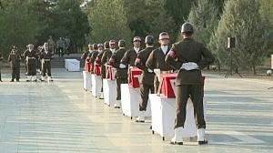 Turkey honours troops killed by suspected Kurdish rebels