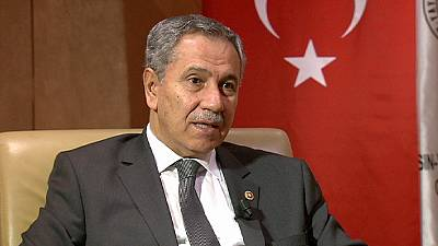 """Bülent Arınç: """"Turquía va a ejercer sus derechos en la búsqueda de petróleo en el Mediterráneo"""""""
