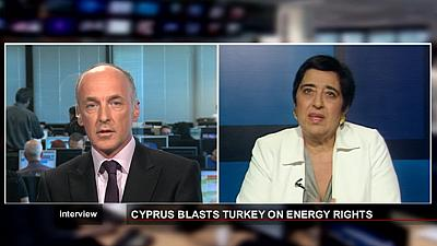 """Außenministerin der Republik Zypern:""""Wir handeln auf der Grundlage des Seerechtsabkommens"""""""