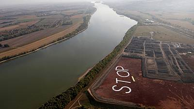 Activists call time on Hungary toxic dump