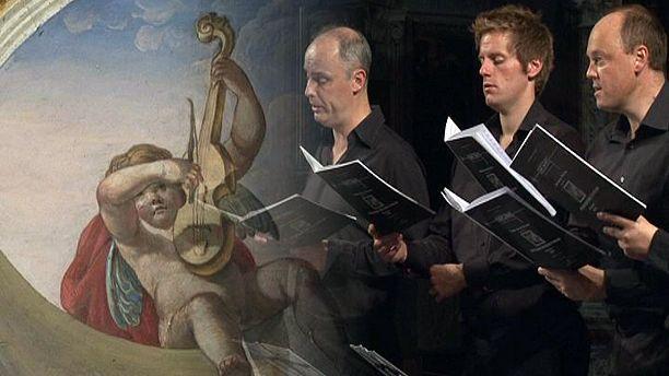 Celestial singing in Umbria