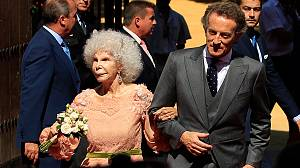 Spanish duchess, 85, weds for the third time