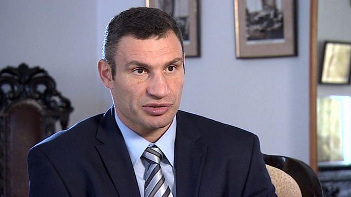 فيتالي كليشكو ، ملاكم و سياسي اوكراني ، بطل العالم في الملاكمة لهذا العام