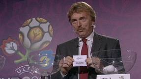 Euro2012 playoff draw