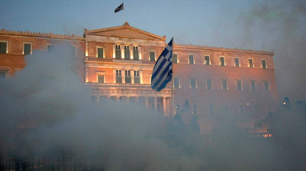Should Greece sort out its own problems?