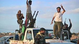 NTC forces take Libyan town