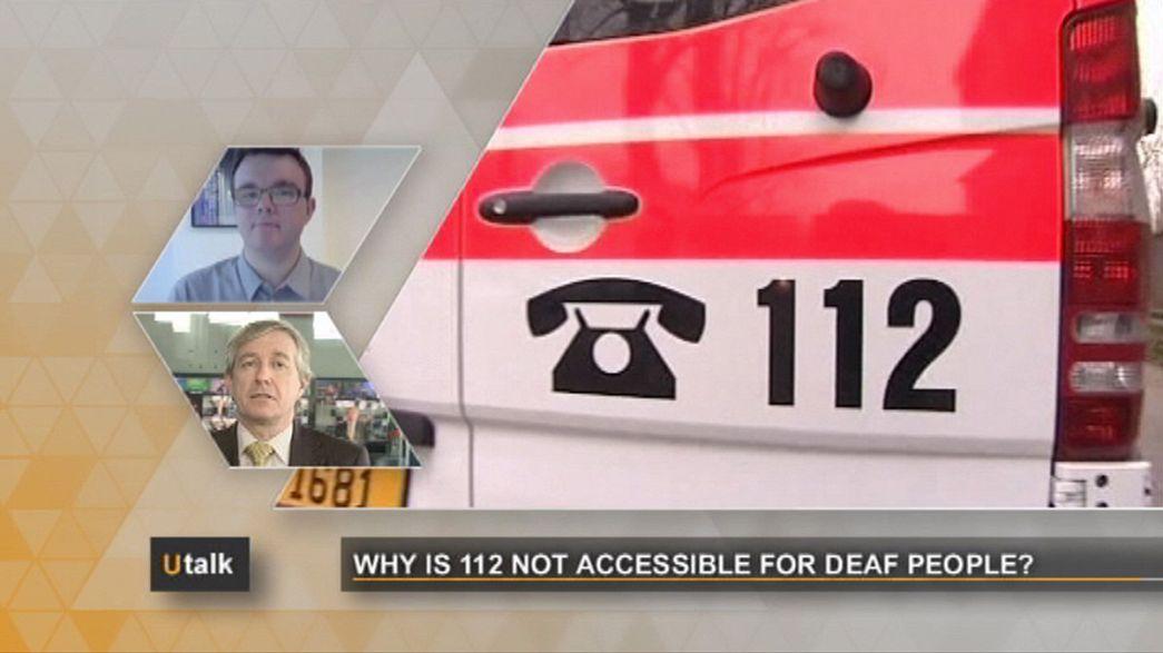 Por que os serviços de emergência do 112 não são acessíveis aos surdos?