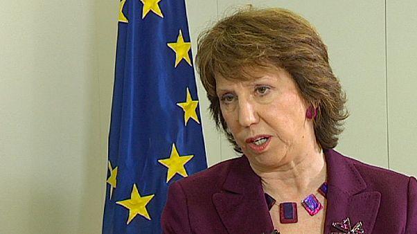 """Libye: """"Nous appuyons toutes les démarches en faveur de la démocratie"""" (Catherine Ashton)"""