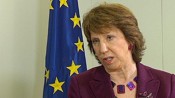 """Ashton: """"Libia se encamina hacia un proceso democrático"""""""