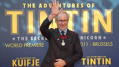 Spielberg's 3D adventures of Tintin premiers