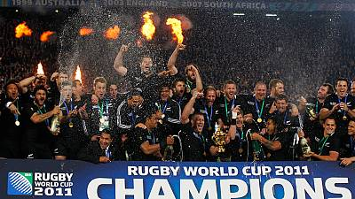 All Blacks win Rugby World Cup