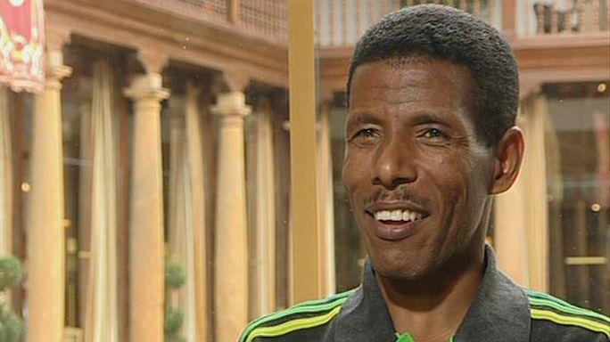 """العداء الكيني هايلي جبريسيلاسي: """"أرغب في الفوز بالذهب في أولمبياد لندن"""""""