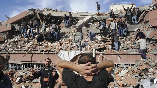 Massive earthquake hits eastern Turkey