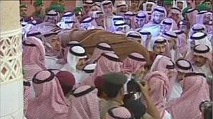 Saudi Arabia's Crown Prince laid to rest in Riyadh