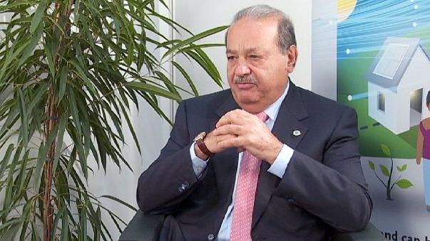 Carlos Slim: En iyi yatırım yoksullukla mücadele etmektir