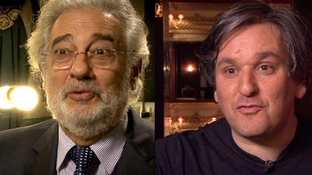 Bonus entrevista con Plácido Domingo y con Antonio Pappano