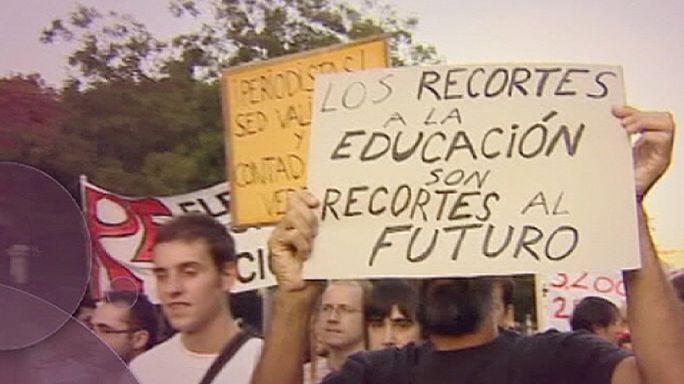 خطط التقشف والوعود الانتخابية في اسبانيا