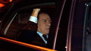 Celebrations in Italy as Berlusconi resigns