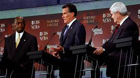 Republican rivals talk tough on foreign policy