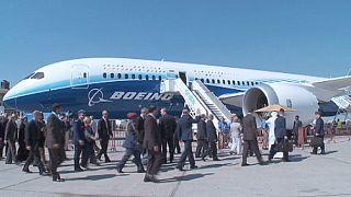 Boeing obtiene un contrato récord en el Salón Aeronáutico de Dubai
