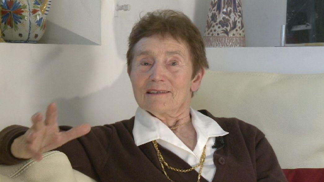 Marie Curie's granddaughter, Hélène Langevin-Joliot