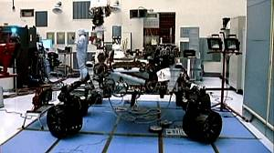 Curiosity robot headed for Mars