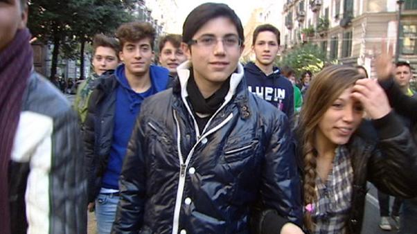 No es país para jóvenes, en Italia