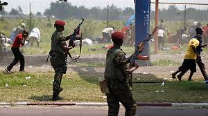 Clashes in run-up to DR Congo election