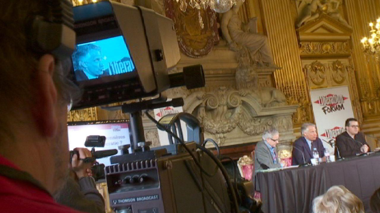 """Primavera árabe e crise do euro em destaque no Fórum """"Libération"""""""