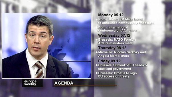 يوروب ويكلي في الاسبوع الاول من الشهر الاخير للعام 2011