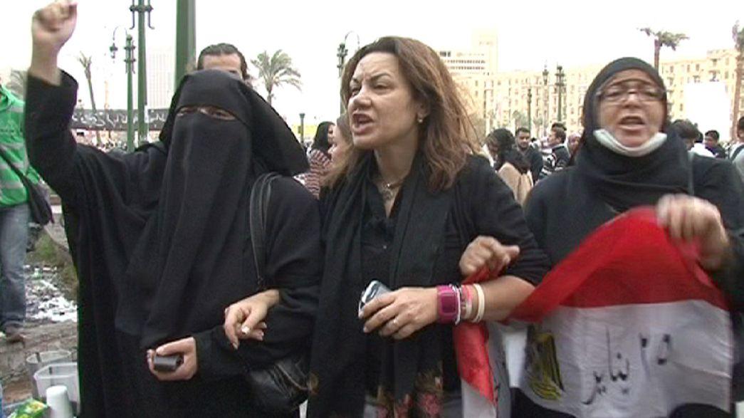 La lucha de las mujeres por hacerse oir en el nuevo de Egipto