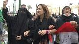 Mısırlı kadınlar hakkını arıyor