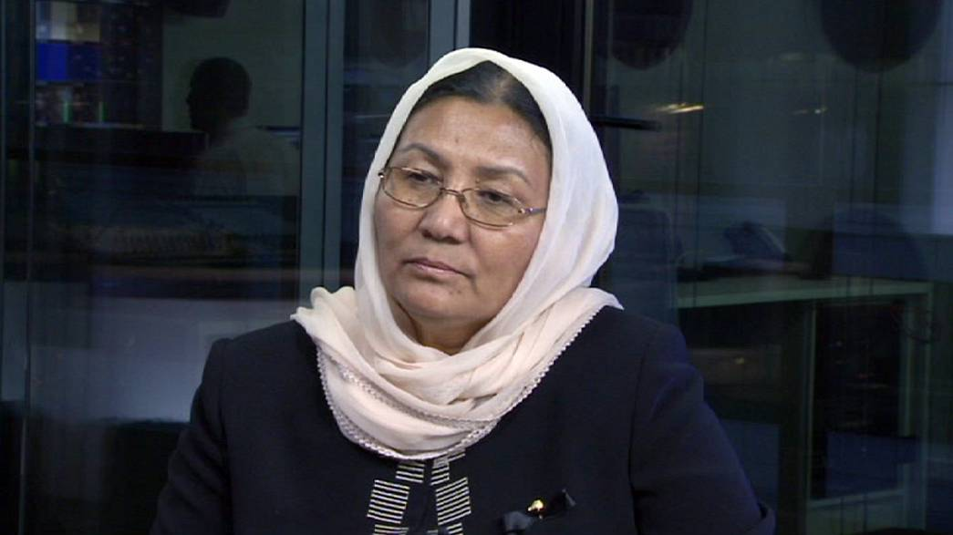 Habiba Sarabi: 'Violence against women still a problem in Afghanistan'