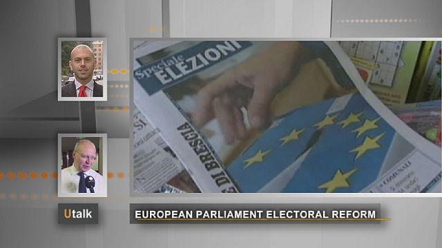 إصلاح النظام الانتخابي في البرلمان الأوروبي