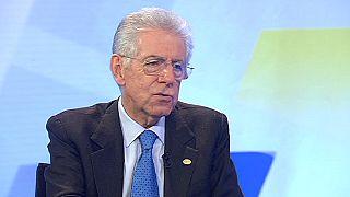 """Mario Monti: """"Hay una gran voluntad para no separar más al Reino Unido de los otros países de la UE"""""""