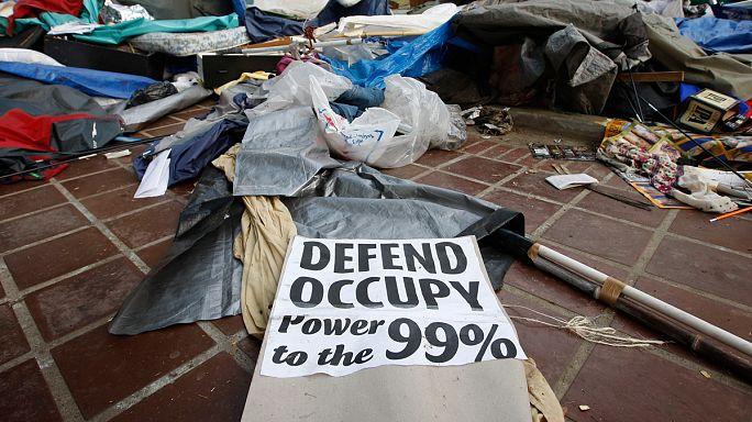 """Movimento """"Occupy Wall Street"""" mantém-se vivo nas ruas"""